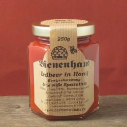 Erdbeeren in Honig
